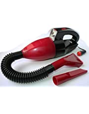 Aspirador Portatil para limpieza de Coche con Filtro Lavable y Luz de Trabajo para suciedad en Humedo y Seco 4185