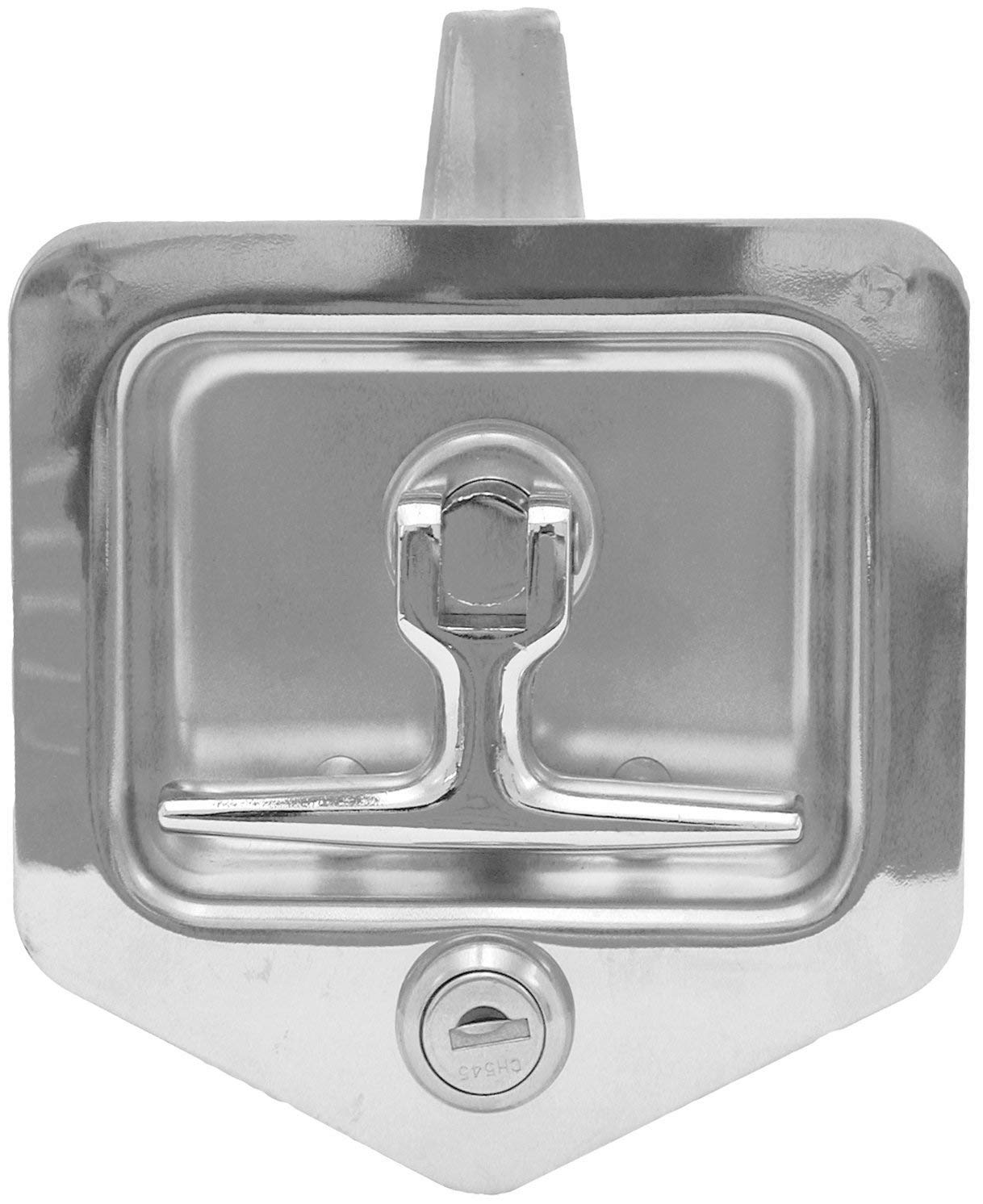 Buyers Products L8855 T-Handle Latch (Latch,T-Hdl,SST W/Gskt,Studs,) (Renewed)
