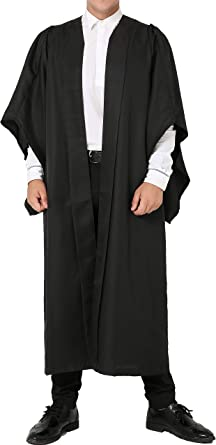 GGS Vestido de graduación de Soltero de UK Solamente
