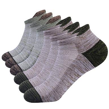 vendita all'ingrosso più amato offrire NAFFIC Calzini da uomo sportivi, da corsa calzini da trekking calzini  sportivi da esterno calzini cotone traspirante calzini bassi sportivi in  cotone ...