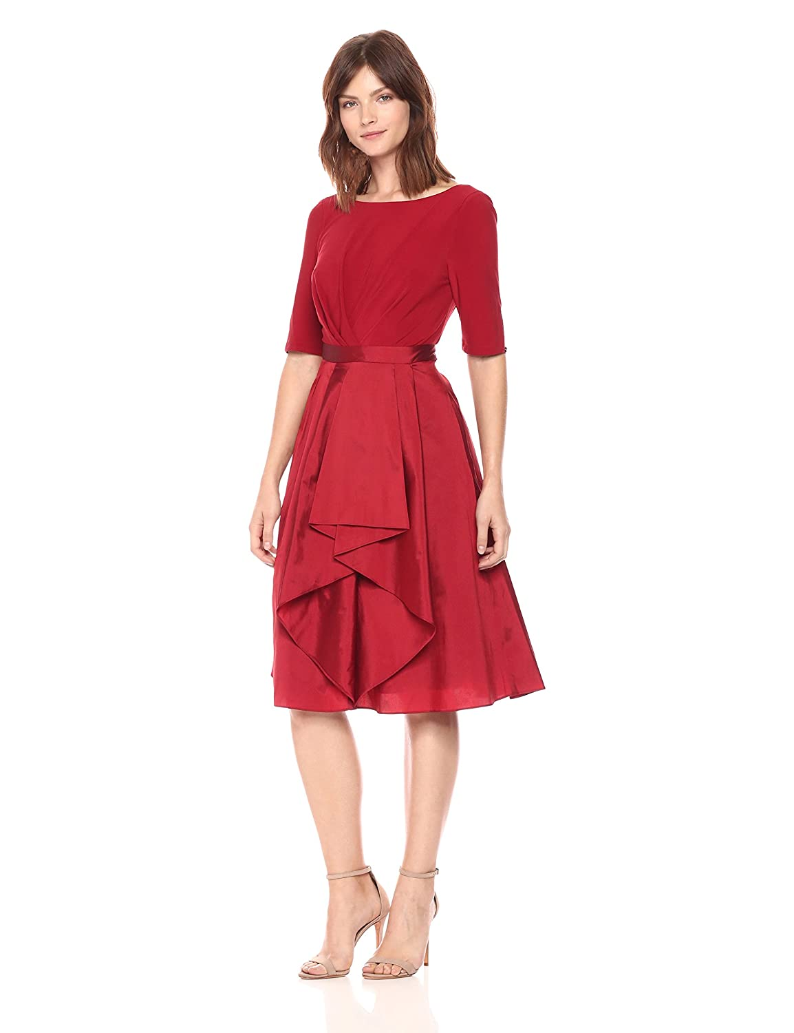 19a4882074 Top1  Adrianna Papell Women s Origami Taffeta and Jersey Dress. Wholesale  ...