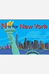N is for New York (Alphabet Cities) Board book