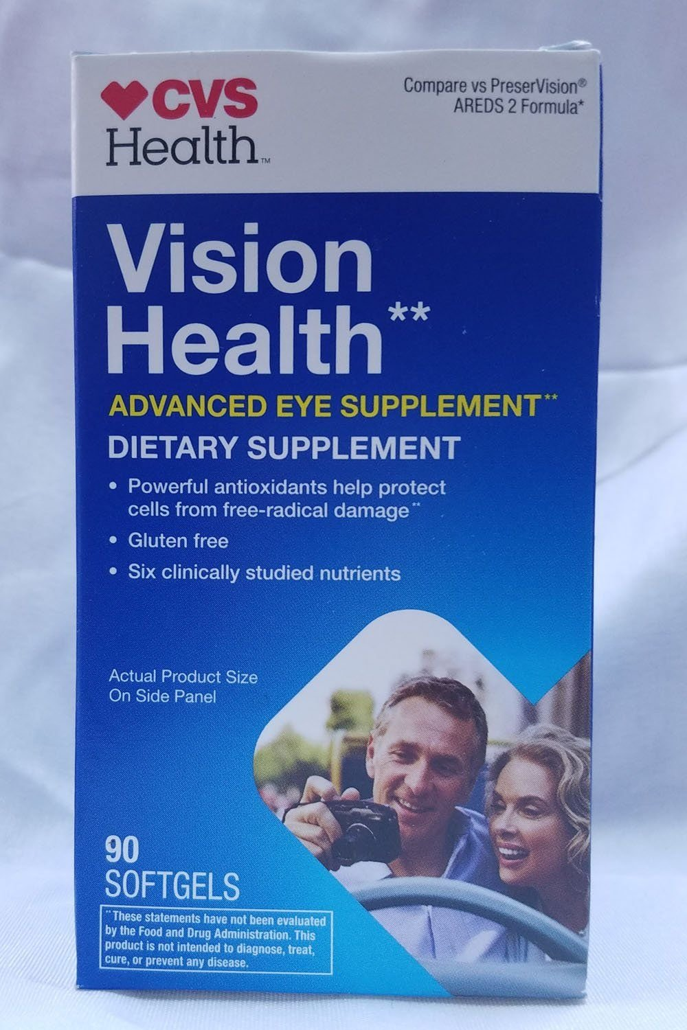 CVS Health Vision Health Advanced Eye Supplement, 90CT