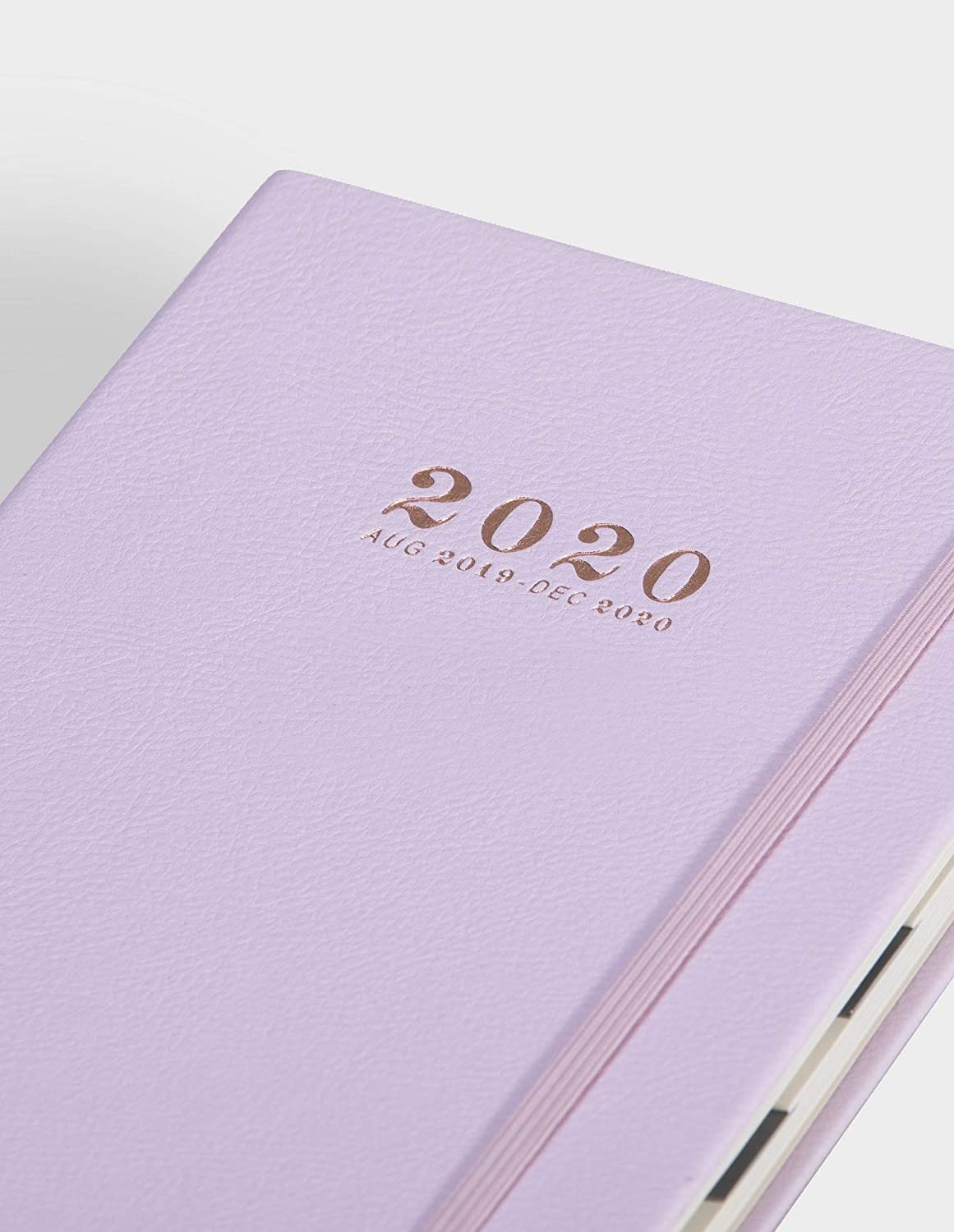 Minimalism Art, Academic Daily Planner, 17-Month Agenda(August 2019-December 2020), Monthly and Weekly Dated Calendar Organizer Book, A5 Thicker ...