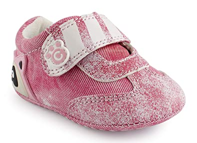 efd5d93ebe18f Cartoonimals Chaussures Bébé Enfant Chaussons Infantile Racoon Denim Pink 19