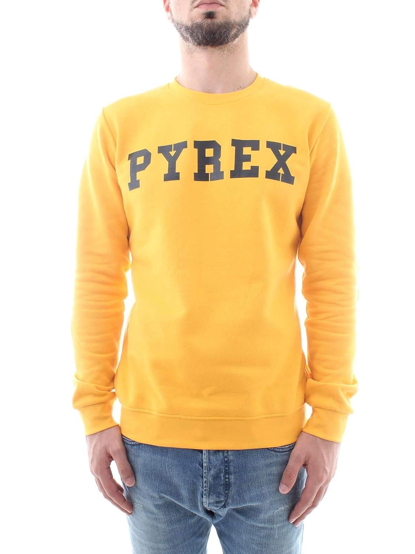 Pyrex Felpa Uomo 34203 Basic Girocollo con Stampa MainApps ... 3a8939b2158f