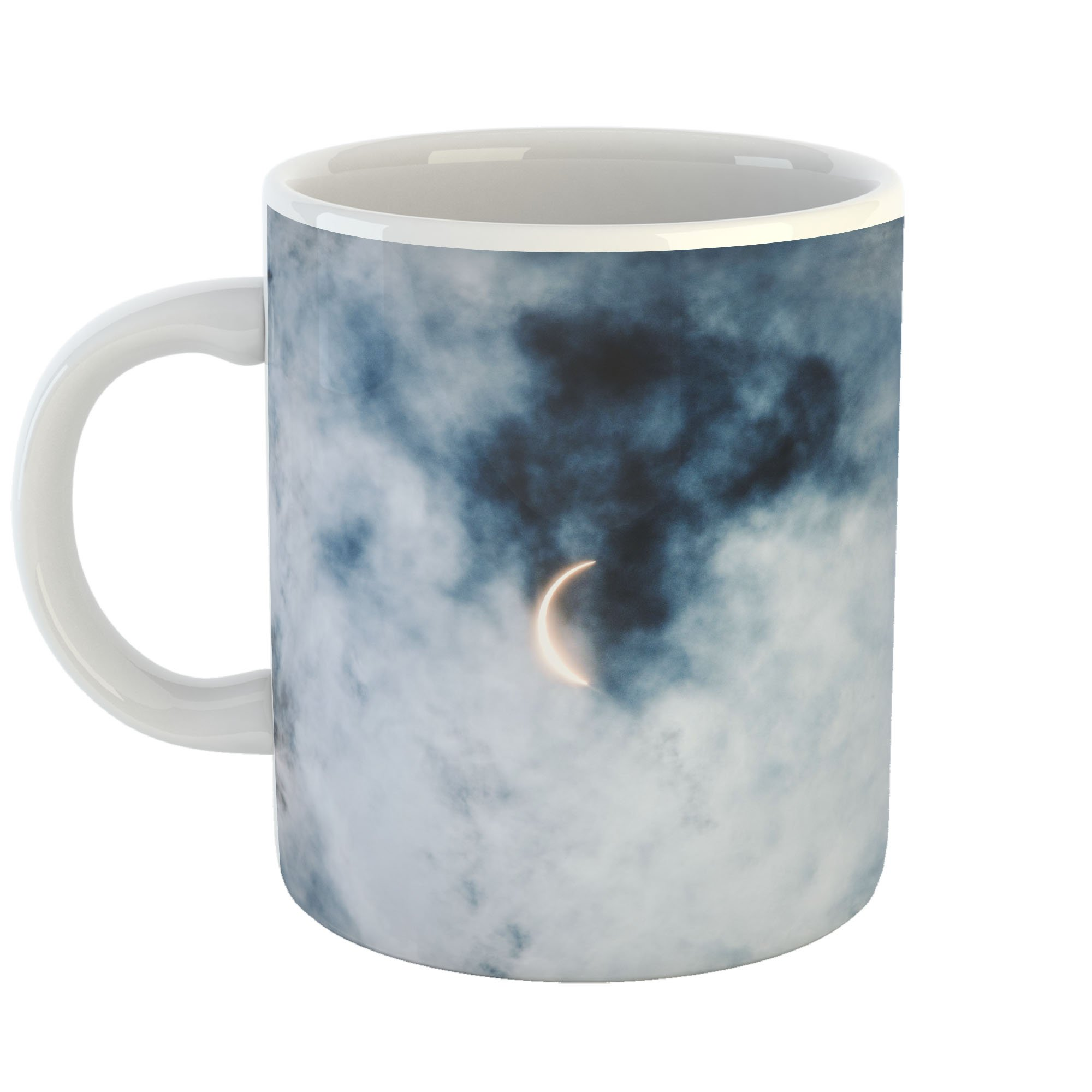 Westlake Art - Moon Solar - 11oz Coffee Cup Mug - Modern Picture Photography Artwork Home Office Birthday Gift - 11 Ounce (1BB1-504D1)