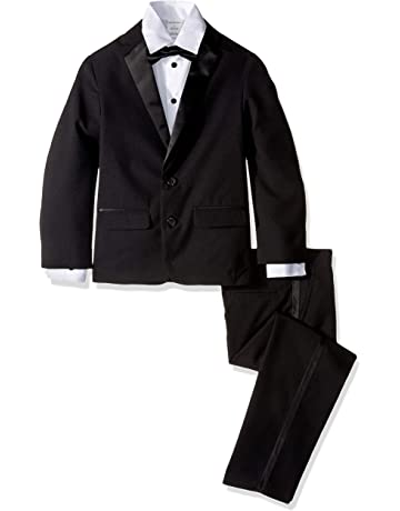 32af61f9f7522 Van Heusen Boys  Little 4-Piece Formal Dresswear Suit Set