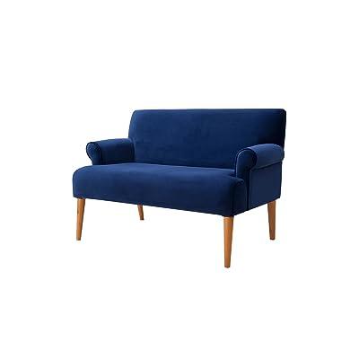 Sandy Wilson Home S61170-859 Callie Sofa, Navy Blue