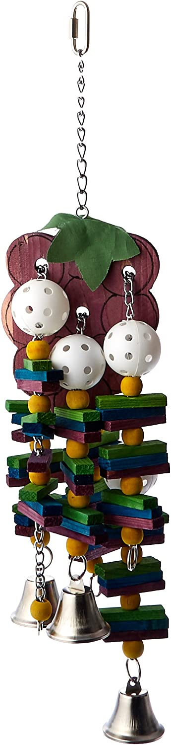 Paradise 7 by 24-Inch Grapes Pet Toy, Large