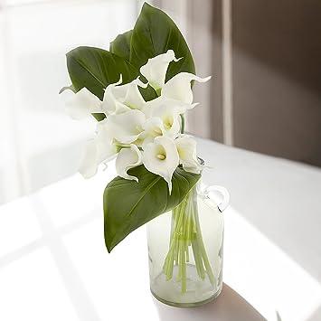 Berühmt Blumenstrauß Calla , Künstlicher Calla ,9 Stücke , Deko &KD_04