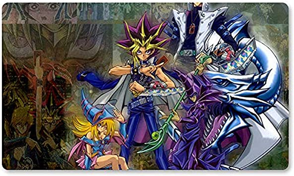 A & S.K (Collab) - Juego de Mesa Yugioh Playmat Juegos Table Mat Mousepad MTG Play Mat For Yu-Gi-Oh! Mon Magic The Gathering 30X80CM: Amazon.es: Electrónica