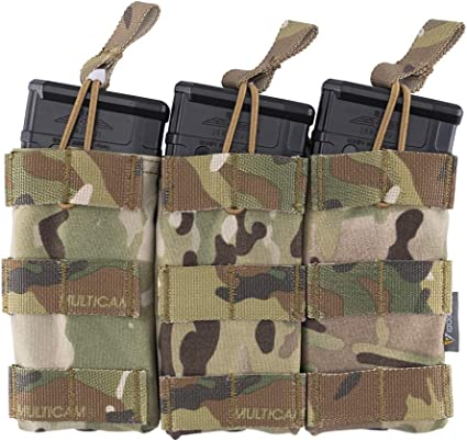 Official Multicam Tactical 5.56mm Rifle Magazine Pouch