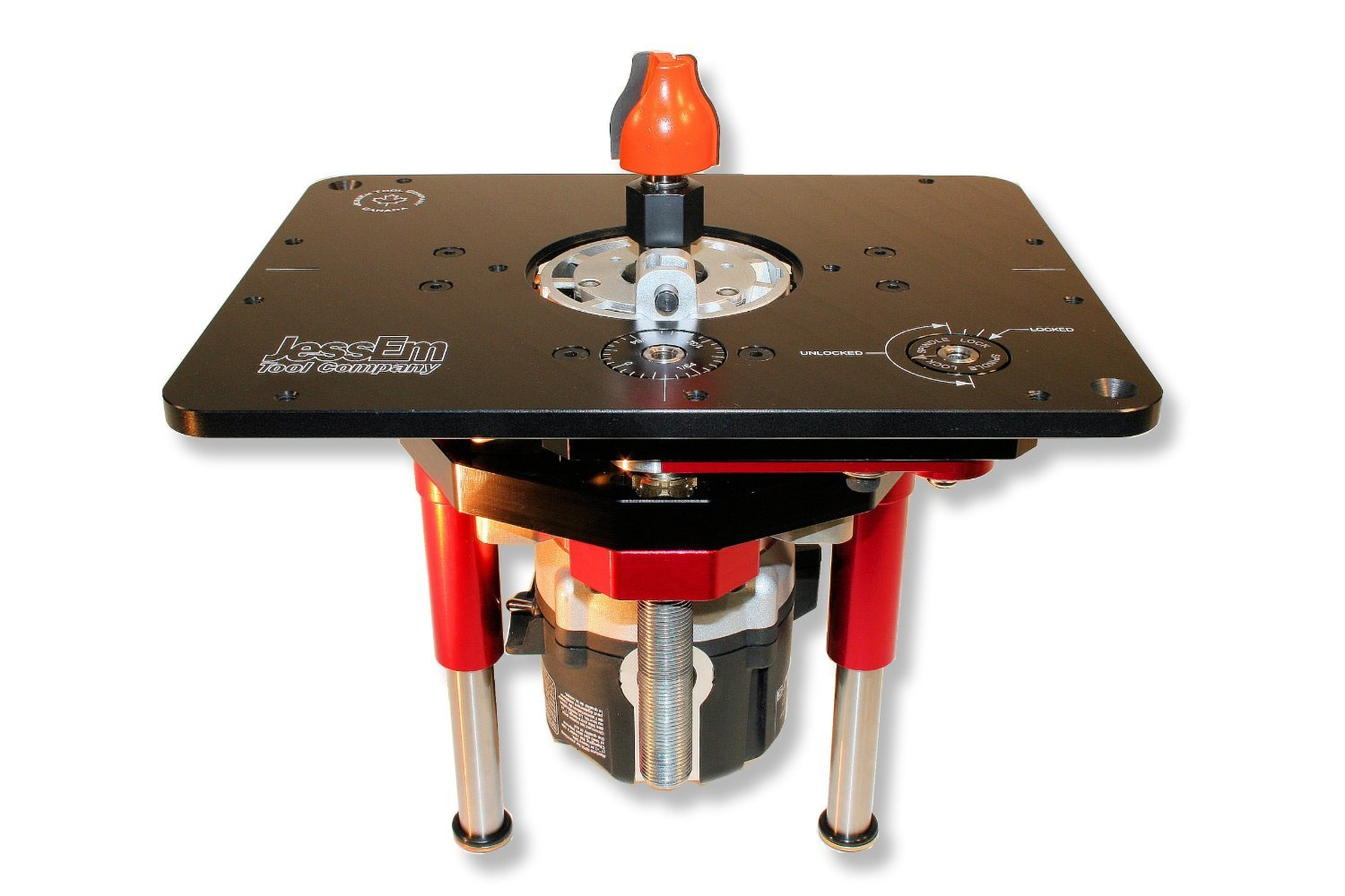 JessEm Mast-R-Lift II 02120 Router Lift, 9-1/4-Inch by 11-3/4-Inch by JessEm Tool Company (Image #4)