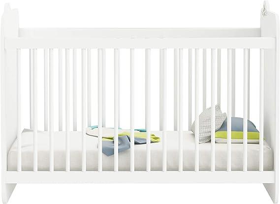 Demeyere – Cuna de bebé con barrotes Mate 60 x 120 cm ...