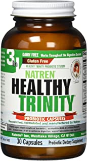 natren healthy trinity 3in1 oil matrix capsules 30 caps dairy free
