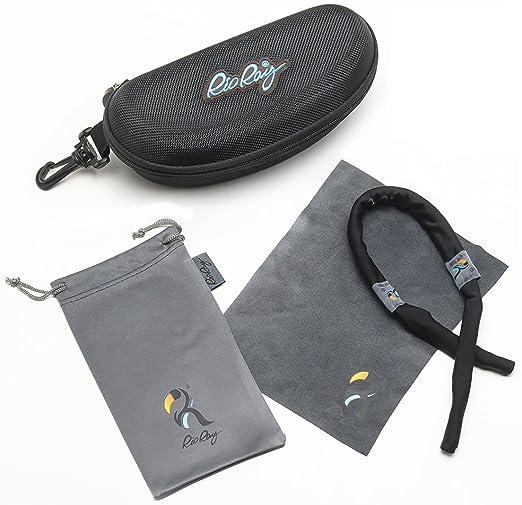 9874ec55b746 Amazon.com  Rio Ray Polarized Sunglasses RX Prescription Ready  Indestructible TR90 Frame – Captiva  Clothing