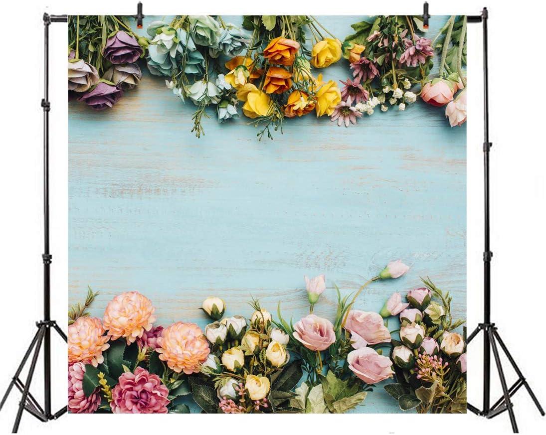 Oumij Photo Backdrop,Photography Backdrop,Colorful Flower Background,Photo Video Studio,Newborn Baby,Wedding,Photo Studio Props HQ7