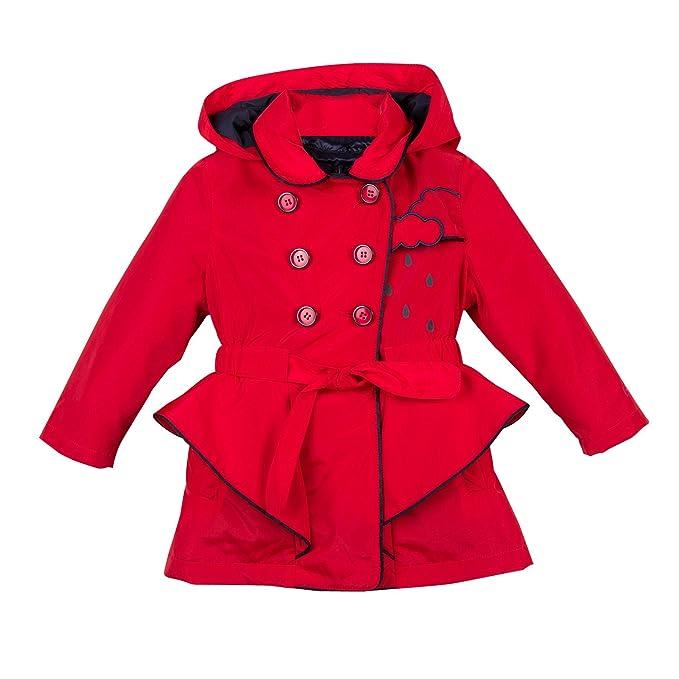 Catimini Robe 2 en 1 Vestido para Niños Rojo 10 años amazon