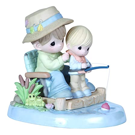 Precious Moments, I Love Spending Time With You, Bisque Porcelain Figurine, 124006