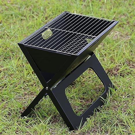 Parrillas de barbacoa de parrilla al aire libre portátil plegable Camping Patio jardín hogar Carbón Horno