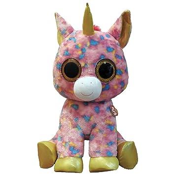 Ty Beanie Boo Xl Fantasia Unicorn Plush Collectable Toy 12 Months 83944721a63e