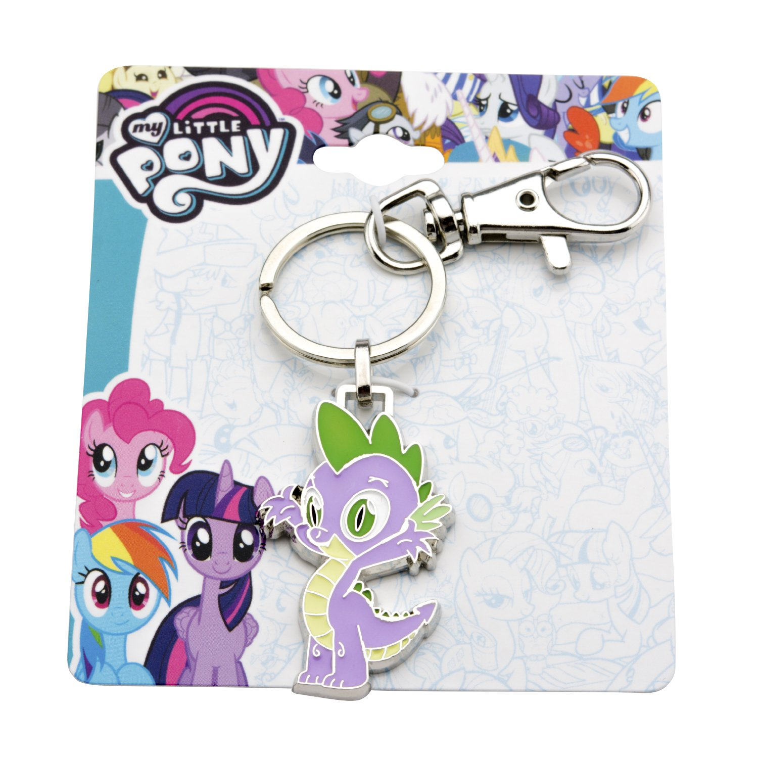 My Little Pony Spike the Dragon Stainless Llavero