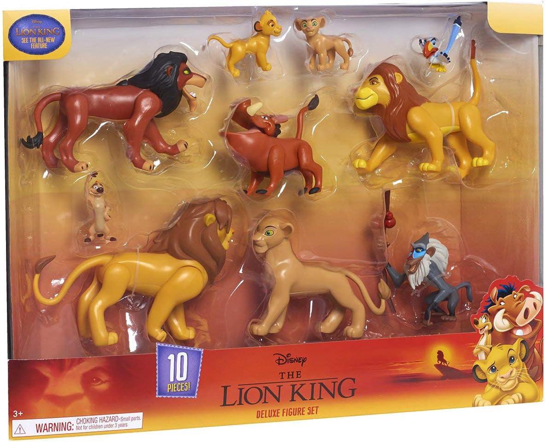SET 9 PERSONAGGI IL RE LEONE DISNEY ACTION FIGURE Timon Simba /& Friend ITA NEWS/'