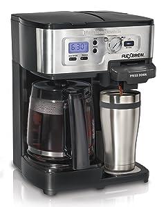Hamilton Beach FlexBrew Single Serve & Full Pot Coffee Maker (49983A)