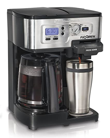 Hamilton Beach FlexBrew Single Serve Full Pot Coffee Maker 49983A