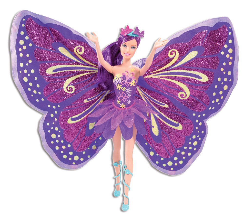 Uncategorized Barbie Fairy amazon com barbie fairy tastic pinkpurple princess doll toys games