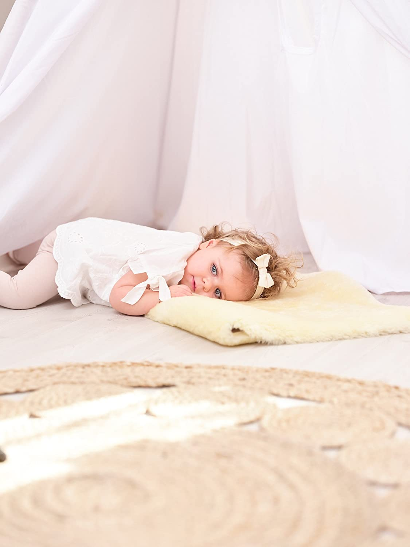 Baby Lammfell Naturform (100 - 105 cm)