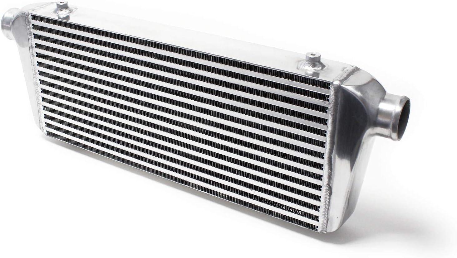 Radiador admisión aire Aluminio Turbo INTERCOOLER No.006 Refrigeración motor turbocompresor Tuning