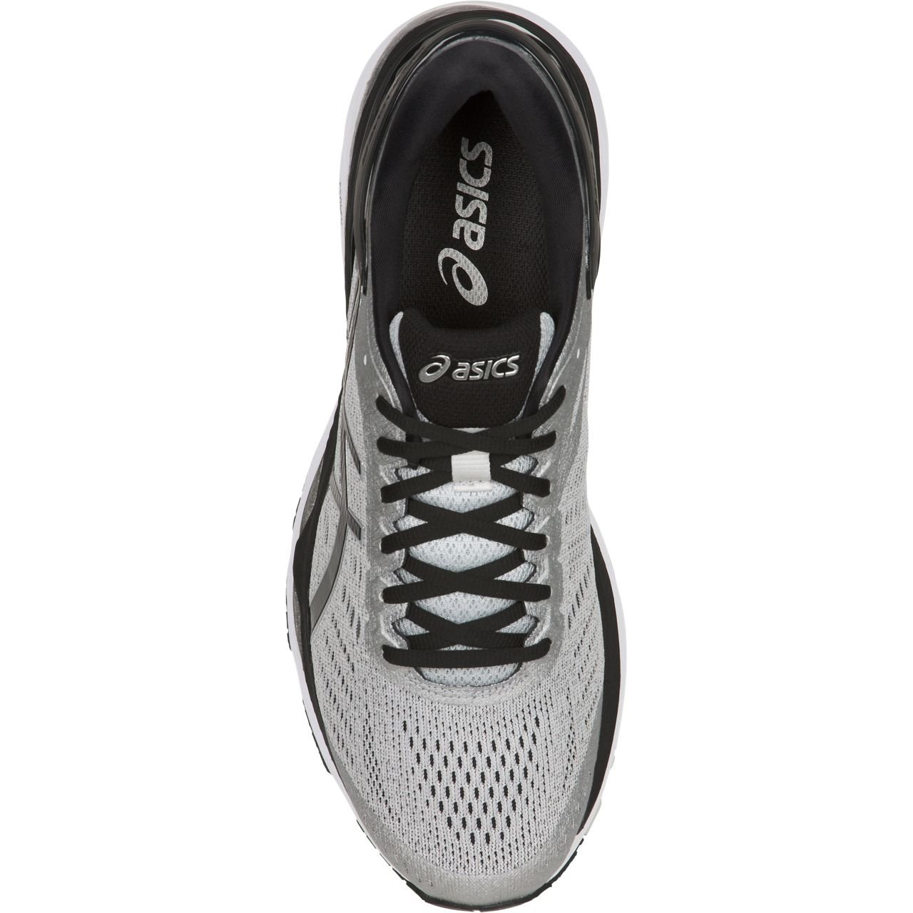 ASICS Mens Gel-Kayano 24 Running Shoe, Silver/Black/Mid Grey, 6 Medium US by ASICS (Image #4)