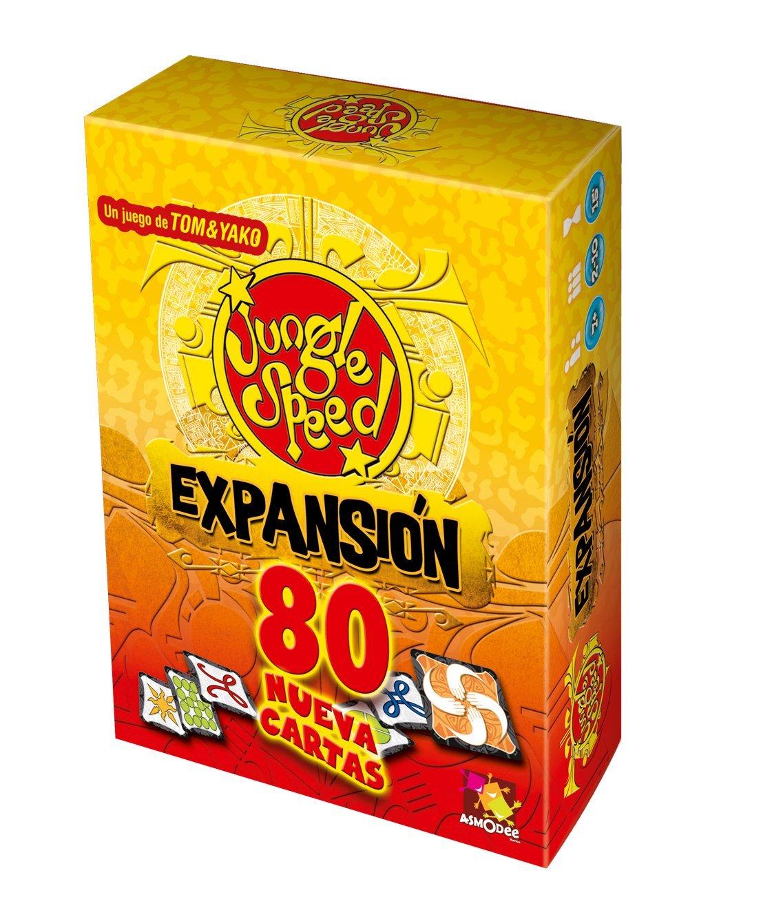 Asmodee Expansión Jungle Speed juego de habilidad JSES