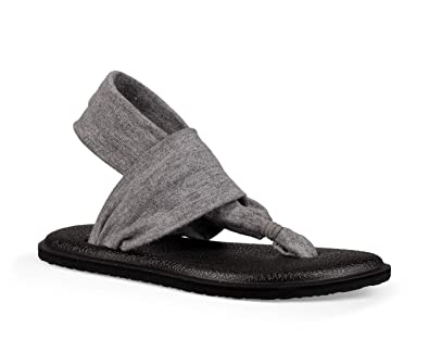 Amazon.com | Sanuk Kids Yoga Sling Bling Sandal & Cooling ...