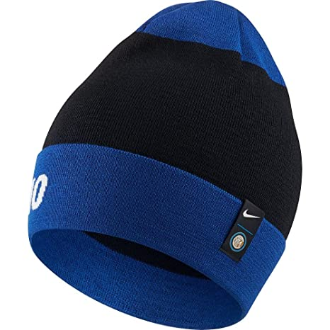 f6d35582295 Amazon.com  Nike Inter Milan Knitted Beanie 2018 2019 - Royal Navy  Sports    Outdoors
