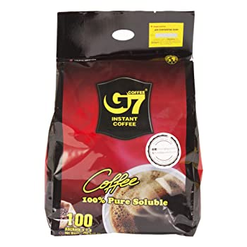 Trung Nguyen G7 Black Instant Vietnamese Coffee Brand