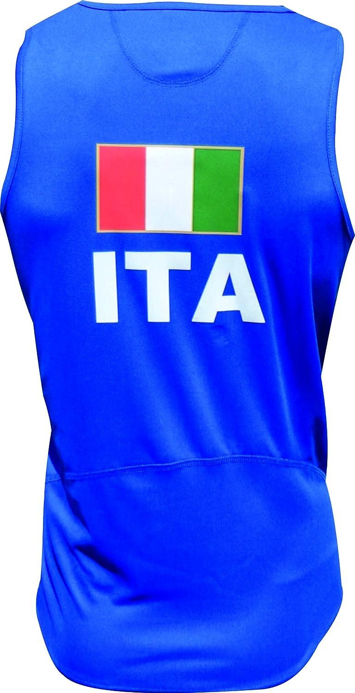 Muy Transpirable y Ligera Ekeko Italia Camiseta de Tirantes para Running Atletismo y Deportes de Playa
