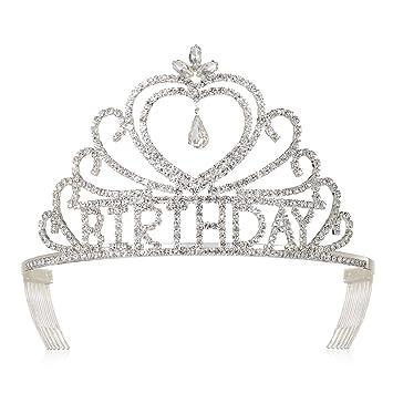 amazon com dczerong birthday tiaras and crowns for women queen s