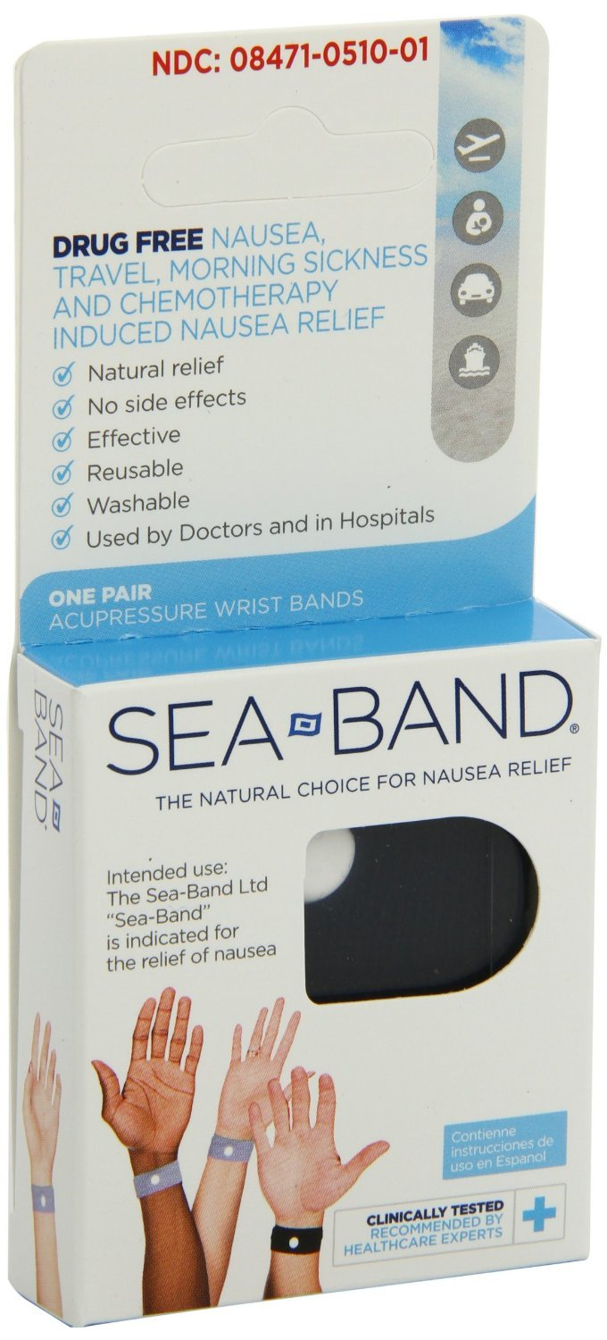Sea-Band Adult Wristbands 6 Count