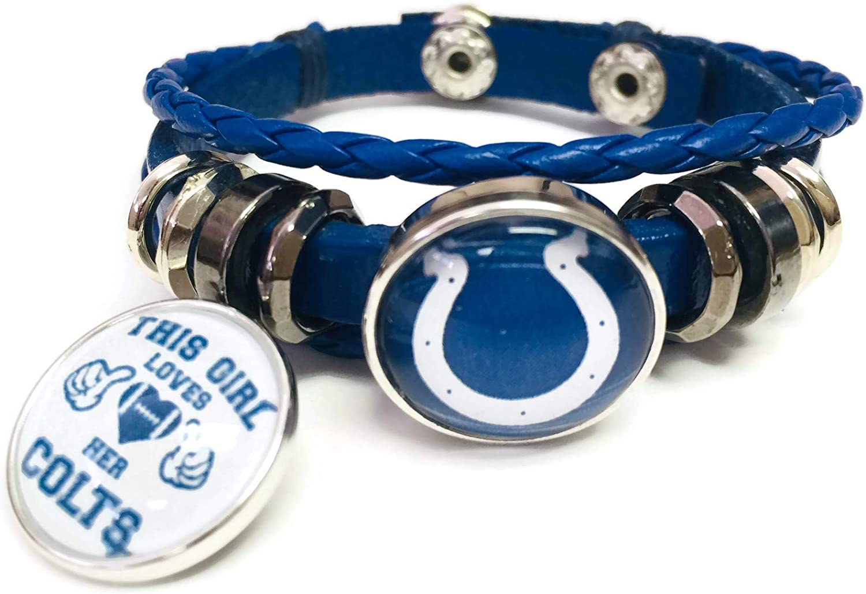 NFL Indianapolis Colts Fan Band Bracelet