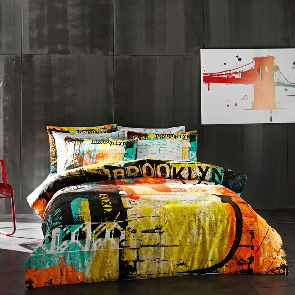 Multicolor comforters and quilts sale ease bedding with for Brooklyn bedding sale