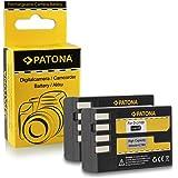 2x Batteria D-Li109 DLi109 per Pentax K-2 | K-30 | K-50 | K-500 | K-r e più… [ Li-ion; 900mAh; 7.4V ]