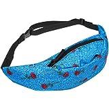 ZOMUSA Fashion Sports Hiking Running Belt Waist Bag Pouch Zipper For Women