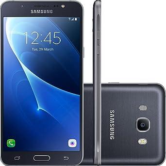 Celular Smartphone Samsung Galaxy J7 J710m 16gb Preto Oi - Dual Chip