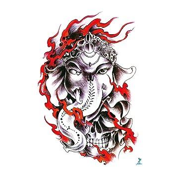 yeeech temporal Tattoo Sticker Papel Tailandia llama elefante dios ...