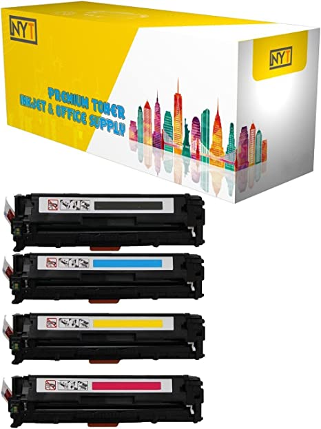 4pk for Color LaserJet CP4005dn Compatible for HP CP4005 Toner Cartridges Combo BCMY