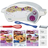 FIVE DEALS Easy Bake Oven Star Edition + Chocolate Chip and Pink Sugar Refill + Red Velvet Cupcakes Refill + Party Pretzel Re