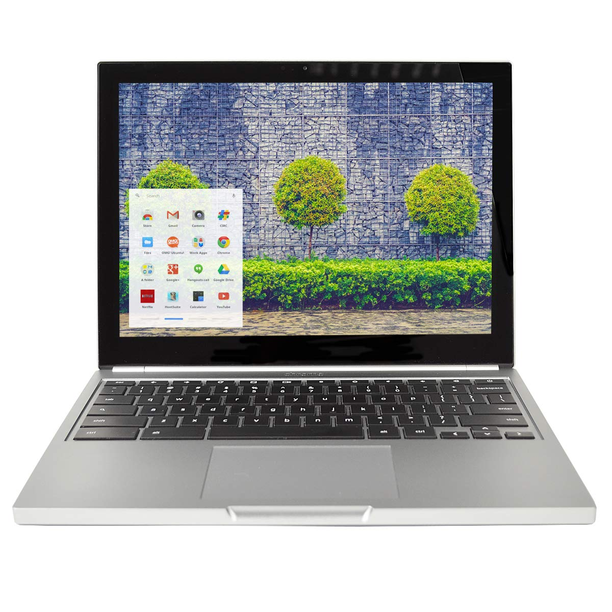 Google Chromebook Pixel C1501W 2015 (64GB SSD - 16GB RAM) - Wi-Fi Touch  Screen Laptop - International Version - No Warranty (Gray)